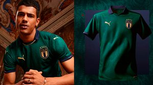 PUMA เปิดตัวชุดฟุตบอลทีมชาติอิตาลี สีเขียวแปลกตา ได้รับแรงบันดาลใจจากยุคเรเนสซองส์