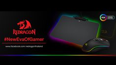 Redragon Thailand เปิดตัว New Item ใหม่คู่หูไฟ RGB