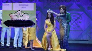 'ดวงธมล' ผู้อยู่เบื้องหลังมงกุฎเพชรของผู้ชนะการประกวด 'มิสแกรนด์ไทยแลนด์กรุงเทพ'