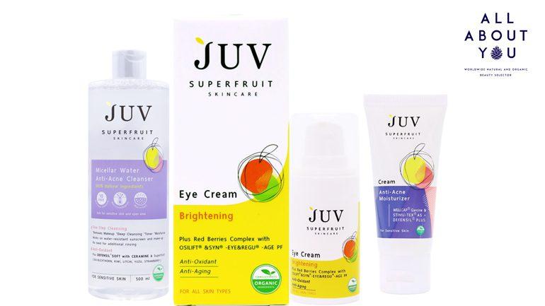 JUV เปิดตัวผลิตภัณฑ์ใหม่ ตอบโจทย์ปัญหาสิว และ ผิวรอบดวงตา