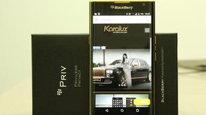 คุณจะซื้อหรือเปล่า ? Blackberry Priv รุ่นทองคำ 24 K  ราคา 1300 เหรียญสหรัฐ