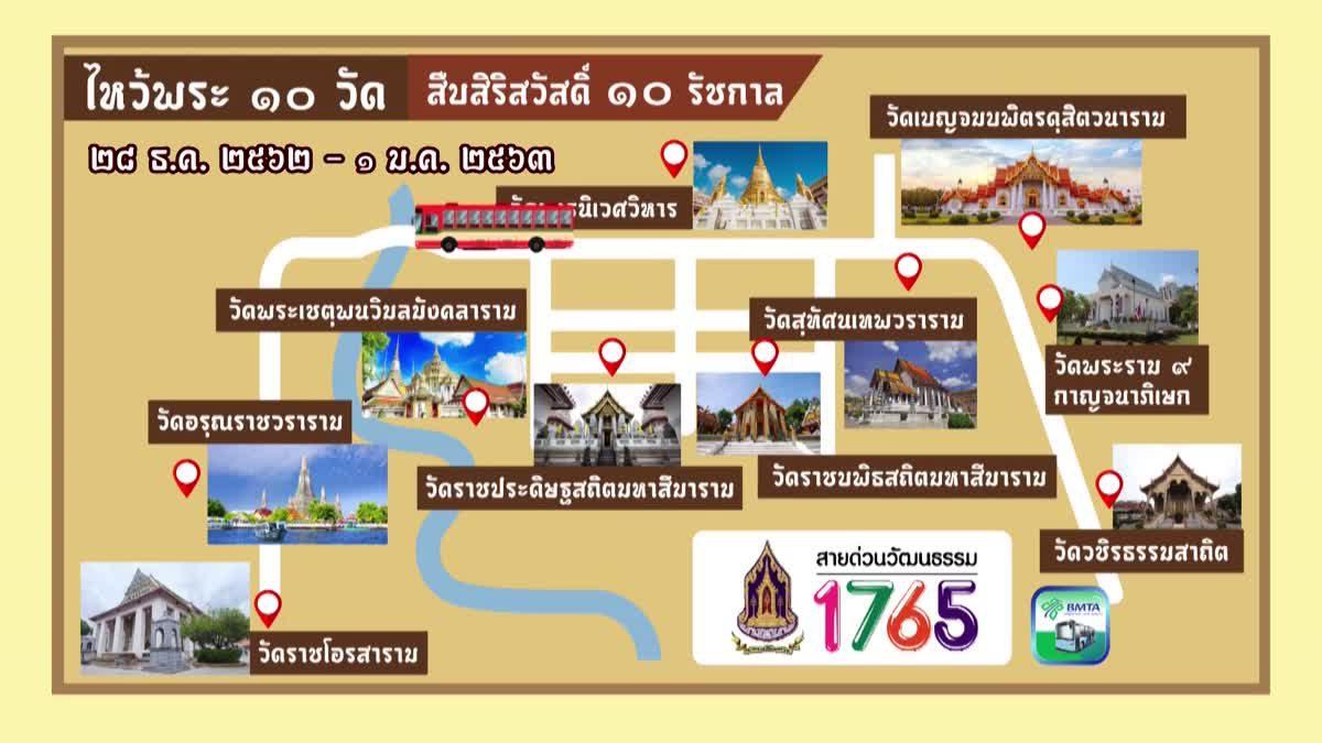 มอบความสุขแบบวิถีไทย ส่งท้ายปีเก่า ต้อนรับปีใหม่ พ.ศ. ๒๕๖๓