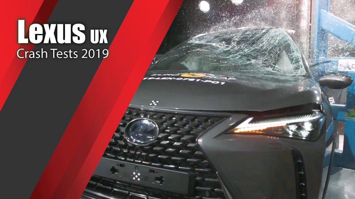 ท้าพิสูจน์ระบบรักษาความภัยของ Lexus UX - Crash Tests 2019