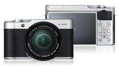Fuji เปิดตัว Fuji X-A10 กล้องน้องใหม่เซลฟี่ได้ราคาไม่แพง!!