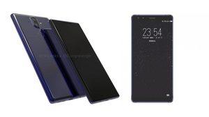 หลุดภาพเรนเดอร์ใหม่ของด้านหน้า Nokia 9 มาพร้อมกล้องหน้าคู่และจอไร้กรอบ