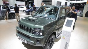 Suzuki Jimny รุ่นปัจจุบันเผยโฉมทิ้งทวนที่ Frankfurt Motor Show 2017