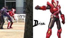 ภาพหลุดใหม่ของ Kamen Rider Drive ในขณะต่อสู้!?