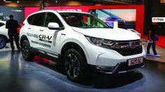 Honda เผยโฉม CR-V Hybrid รถ SUV พลังไฟฟ้ารุ่นแรกในค่าย บนแผ่นดินยุโรป