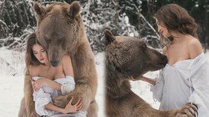 รวมภาพถ่ายสวยๆ กับ เจ้าหมีอ้วน ราวกับหลุดมาจาก 'เทพนิยาย'