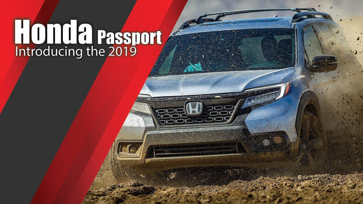 Introducing the 2019 Honda Passport