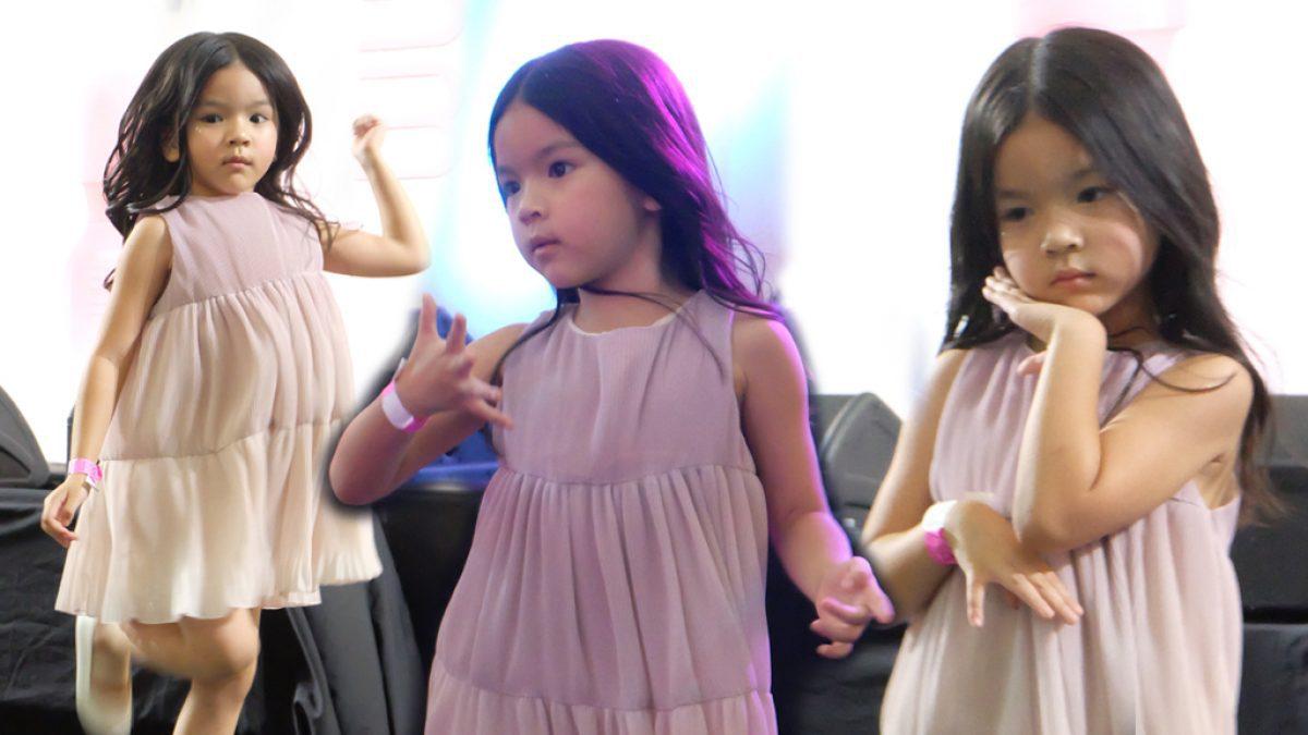 ท่าเป๊ะมาก! น้องมะลิ โชว์สเต็ปเพลงเกาหลี ในงาน PARTY FAMILY ของแม่โบว์ เต้นจบก็จะมีอาการเขินแบบนี้
