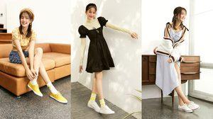 9 ลุคสุดคิ้วท์ โบว์ เมลดา มาแมทช์ลุคสดใส แฟชั่นรองเท้าผ้าใบ Keds ที่สาวๆเลิฟ