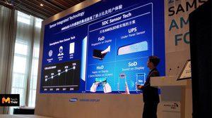 ไร้รอยบาก!! Samsung อาจจะปล่อยหน้าจอเต็ม ฝังกล้องหน้าและลำโพง ในมือถือรุ่นใหม่