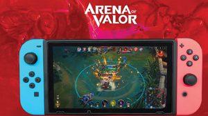 AOV หรือ Arena of Valor บนเครื่อง Nintendo Switch เปิดให้เล่นอย่างเป็นทางการเเล้ว