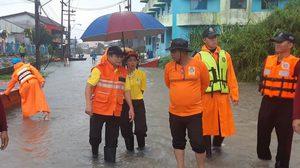 ปภ.เผยน้ำท่วมที่นราฯ เร่งระบายน้ำ-ช่วยเหลือผู้ประสบภัยแล้ว