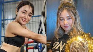 """นักสู้สาว MMA """"ริกะ อิชิเกะ"""" ขอเปิดศึกมวยดารา """"กระแต อาร์สยาม"""""""