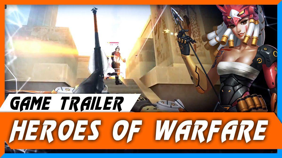 Heroes of Warfare [ตัวอย่างเกม]