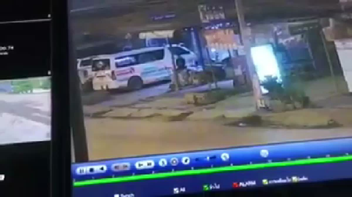 โจรย่องงัด! สัญญาณไฟฉุกเฉินรถพยาบาลกู้ภัย วอนช่วยแจ้งเบาะแส