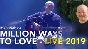 บอย โกสิยพงษ์ ประกาศจัด BOYd50th #3 MILLION WAYS TO LOVE – LIVE 2019