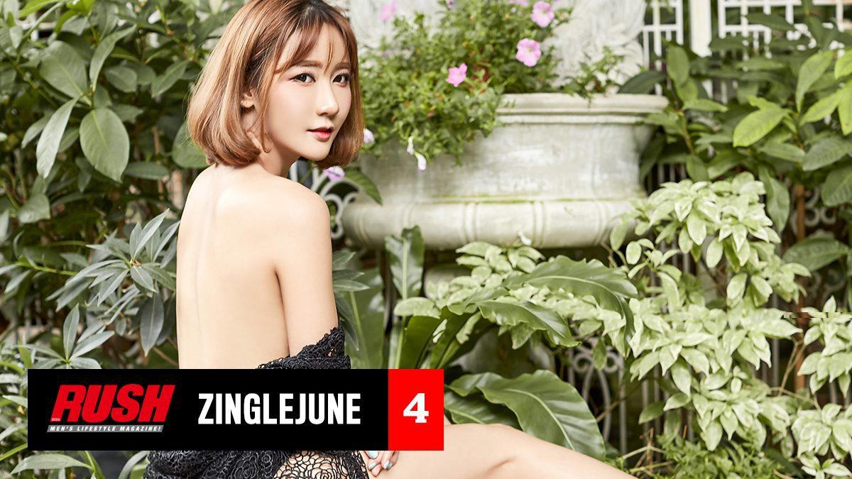 ซิงเกิ้ล จูน นางแบบหน้าหมวยหุ่นเอ็กซ์ ในชุดชั้นใน