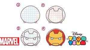 สอนวาดรูป : ฮีโร่ Marvel สไตล์ Disney Tsum Tsum โดย PannPam การ์ตูน สร้างสุข
