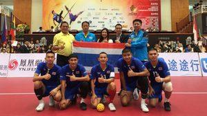 ตะกร้อ ทีมชาติไทย ประกาศศักดา! ไล่ต้อนคู่แข่งกวาดแชมป์ ตะกร้อ เอเชียนแชมเปี้ยนชิพ 2019
