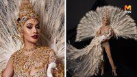 """ทีมไทยแลนด์พร้อมส่งออก """"ชุดราชินีแห่งนก"""" สู้ศึก Miss Intercontinental 2019"""