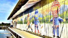 ชวนไปแชะ สีสันลายศิลป์ บนถนนสายเกลือบางแก้ว ทางผ่านสู่ชะอำ