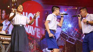 Hotwave 2017 มันส์สุดติ่ง!! 2 หนุ่มขาร็อค ปะทะ 3 นักร้องสาวเสียงหวาน