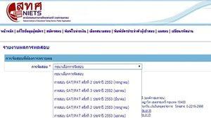 สทศ. ประกาศผล คะแนน GAT/PAT ครั้งที่ 1/2557