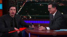 อดัม ไดรเวอร์ เล่นตุ๊กตาฟิเกอร์ต่อบทจากหนัง The Last Jedi กับ สตีเฟน โคลแบร์
