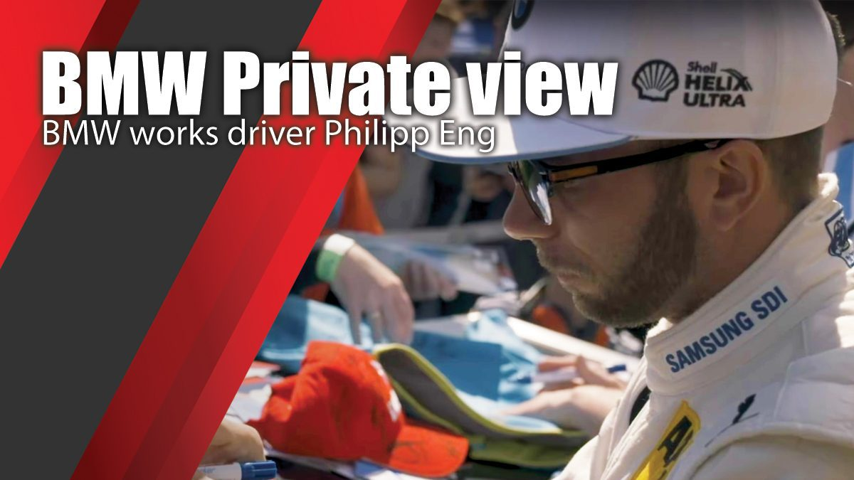 BMW Private View - BMW works driver Philipp Eng