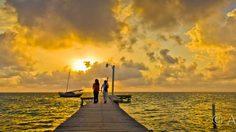 เที่ยว ซานเปโดร ตกปลา ริมทะเลสวย ประเทศเบลีซ (Belize)