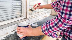 ขั้นตอน ทาสีกรอบหน้าต่าง ให้สวยแบบมืออาชีพ