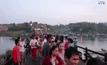 ไหว้พระวัดเก่ากลางแม่น้ำ จ.กาญจนบุรี