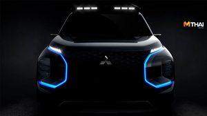 Mitsubishi Engelberg Tourer เผยทีเซอร์รถต้นแบบ เอสยูวีพลังงานไฟฟ้า