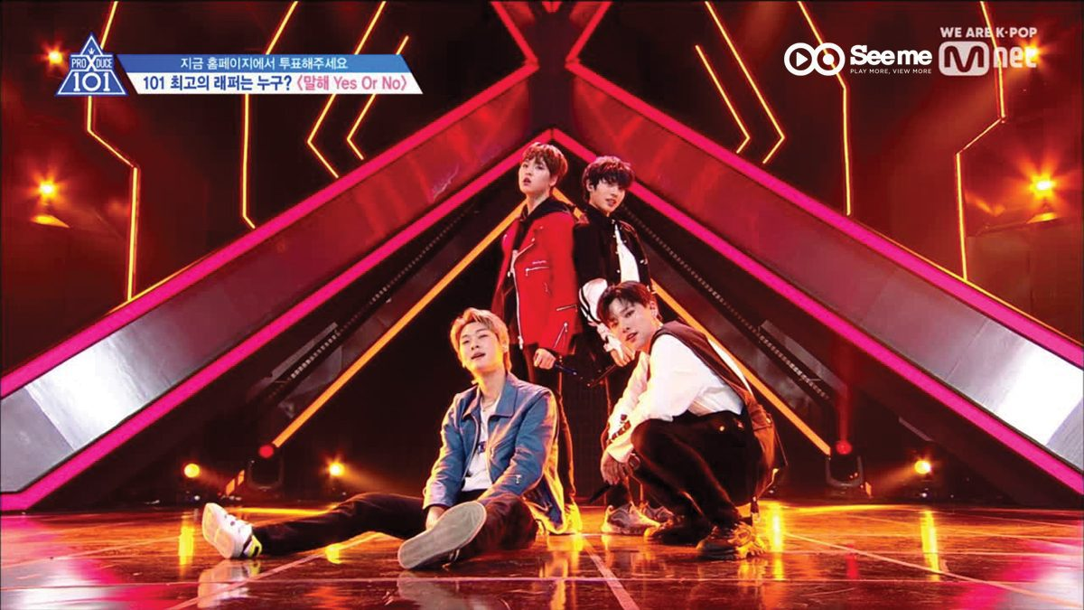 [THAI SUB] PRODUCE X 101 ㅣทีม 119 - Zico ♬Say Yes Or No @การแข่งขันรอบ Position [EP.6]