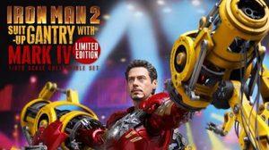 Hot toys จัดหนักปล่อยชุดใหญ่ Iron man 2 Suit-Up Gantry มาอีกระลอก