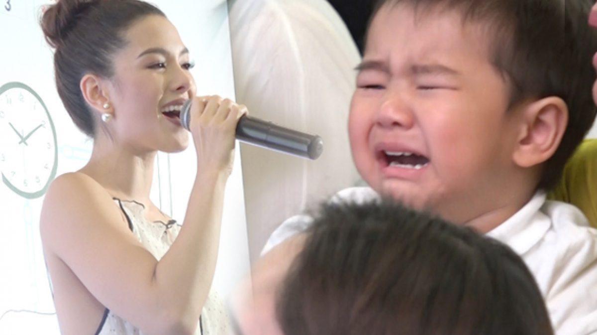 แข่งกันร้อง?! น้องดีแลน ร้องไห้หนักมาก เมื่อ แม่ลิเดีย โชว์เพลงนี้บนเวที