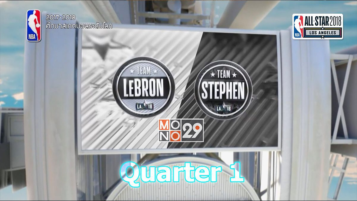 Team Lebron VS Team Stephen [Q1]