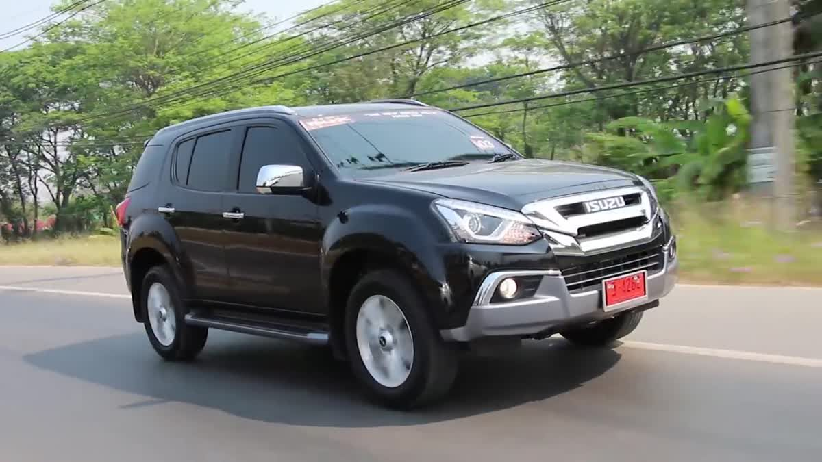 [drive] ISUZU MU-X 1.9L Ddi VGS Turbo I C 6AT
