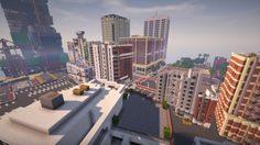 สร้างมา 1 ปี กับฉากเกมส์ GTA 5 ถ่ายทอดผ่านโลกเกมส์ Minecraft