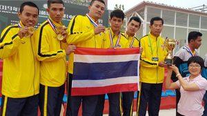 ทีม ตะกร้อ 4 คน จากไทย เตรียมบินลัดฟ้าไปโชว์ฝีเท้าแดนปลาดิบ โอกาสครบรอบ 30 ปี สมาคมตะกร้อญี่ปุ่น
