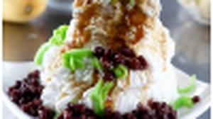 Mei Heong Yuen กิน ลอดช่องสิงคโปร์ (ไอศกรีม) และ พุดดิ้งนม ที่ไชน่าทาวน์ สิงคโปร์