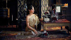 วาววา ณิชารีย์ สวยหรูลุคแม่หญิง กับ ชุดแต่งงานไทยศิวาลัย