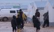 ผู้อพยพซีเรียมุ่งหน้าไปยังตุรกี