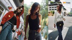 สไตล์สบายๆ แบบ โบว์ เบญจวรรณ พร้อมเทคนิคการเลือกกางเกงยีนส์ ให้สวยและใส่สบาย
