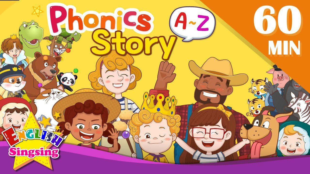 การ์ตูนสอนภาษาอังกฤษ พูดออกเสียง Phonics A ถึง Z เด็กอนุบาล-ประถม