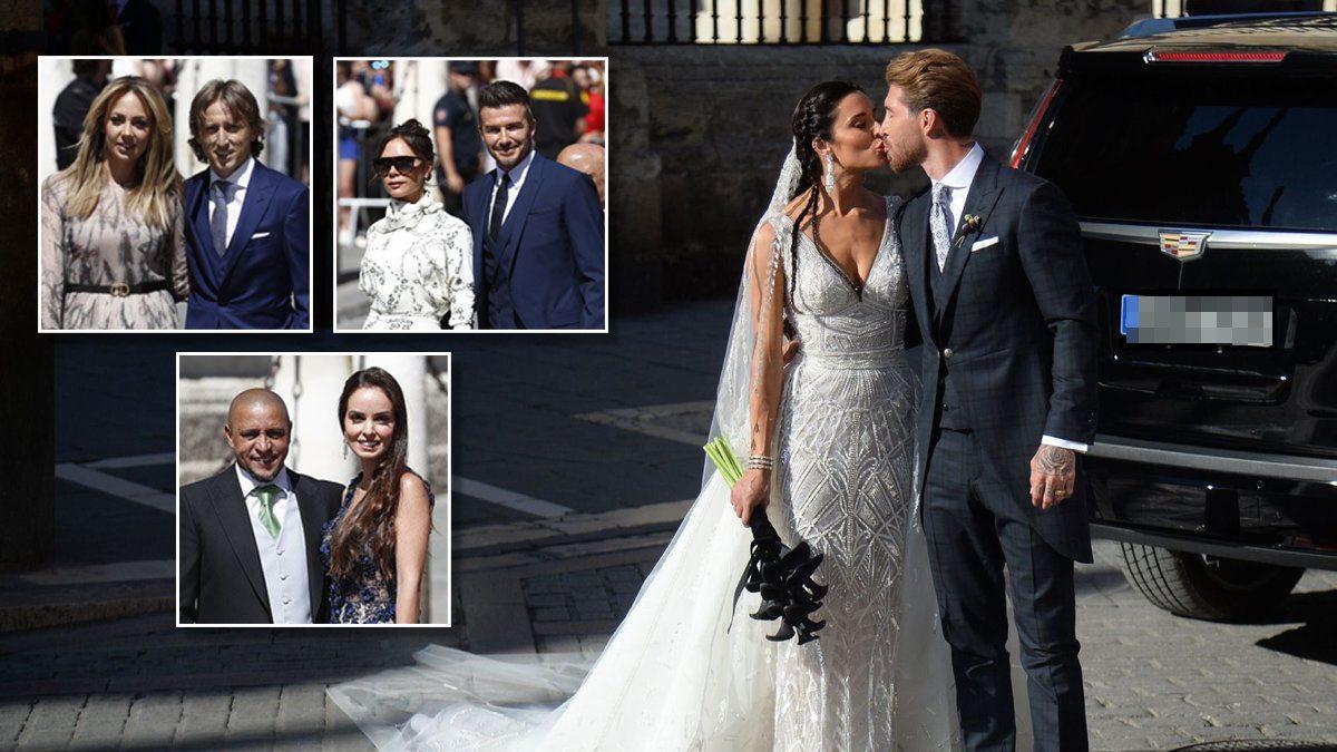 เหล่าแข้งดังตบเท้าร่วมงานแต่ง 'รามอส' สุดชื่นมื่น แต่ไร้เงา 'โรนัลโด้'
