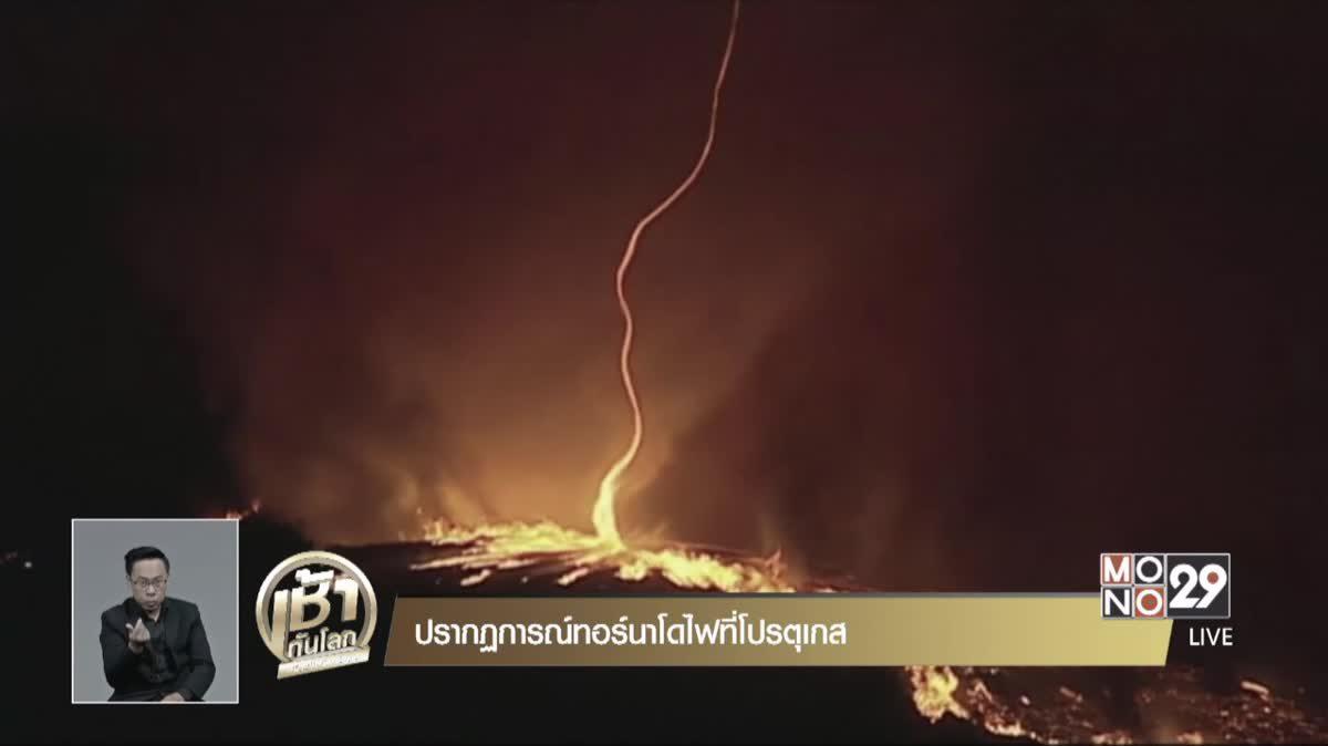 ปรากฎการณ์ทอร์นาโดไฟที่โปรตุเกส